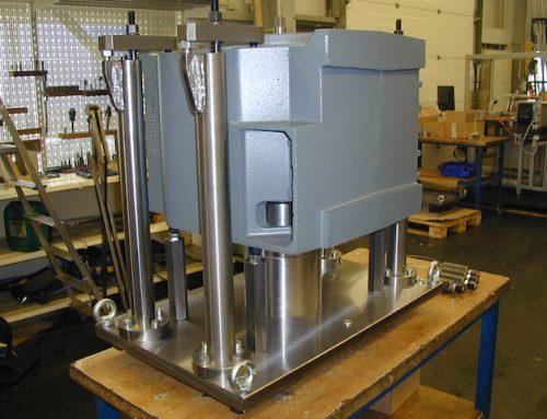 Fräsvorrichtung für Motorengehäuse