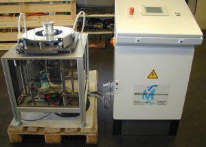 Magnetmontageanlage für Rotoren